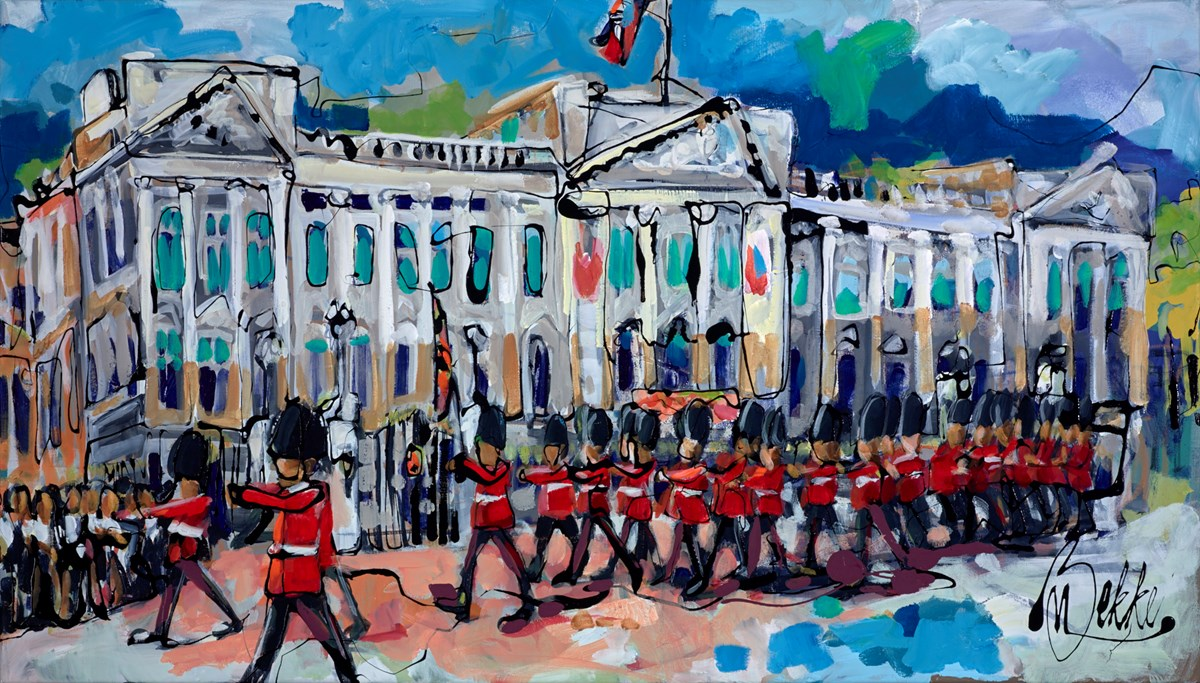 Royal Change by marieke bekke -  sized 55x32 inches. Available from Whitewall Galleries